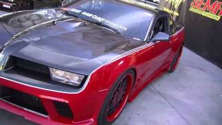 2010 SEMA V8TV Video Coverage: 2011 Banshee Concept Car Feature by Restore A Muscle Car