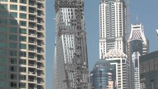 Dubai Marina Infinity Tower (January 2012)