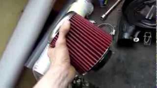 2.0 Теория ДВС: Система фильтрации воздуха на ВАЗ 21083