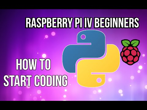 Raspberry Pi - How to start programming with Python