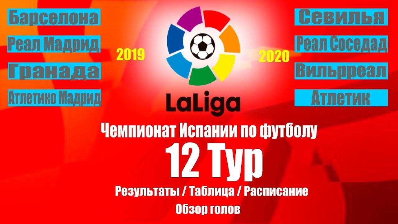 Чемпионат испании по футболу 2010 расписание