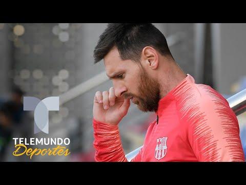 Messi no entrena y ocurre lo peor para el Barcelona-Betis | Telemundo Deportes