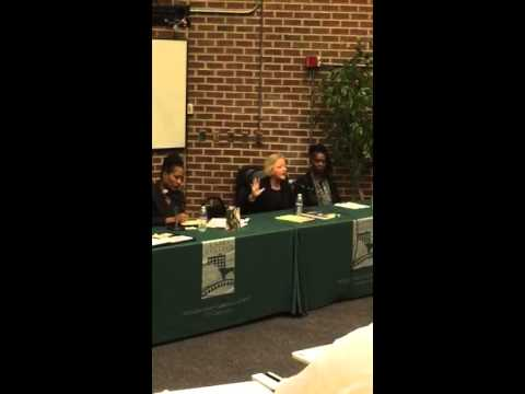 Ken Houston addressing sex trafficking with District Attorney Nancy E O