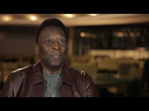 PELÉ, Birth Of A Legend, special behind the scenes with Pelé interview