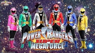 all power rangers opening mighty morphin super megaforce