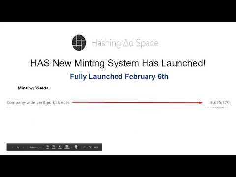 Hashing Ad Space New Minting System Debut and Review