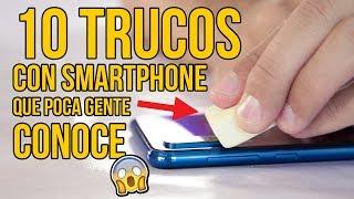 10 TRUCOS CON SMARTPHONE QUE POCAS PERSONAS CONOCEN