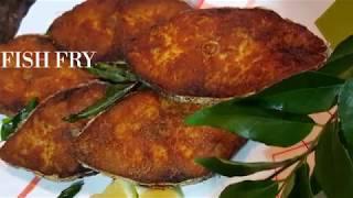 FISH FRY - KING FISH - THE TRADITIONAL WAY