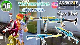 [Garena Free Fire] Test Skin MP40 Công Nghệ Chỉ Số Tốt | AS Mobile
