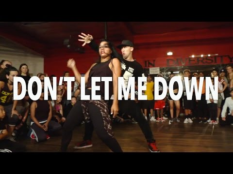 DON † T LET ME DOWN - Chainsmokers ft Daya | @MattSteffanina Choreography