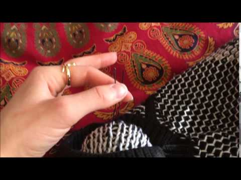 How To Take Care Of Your Sweater Fixing Pulls With A Bobby Pin