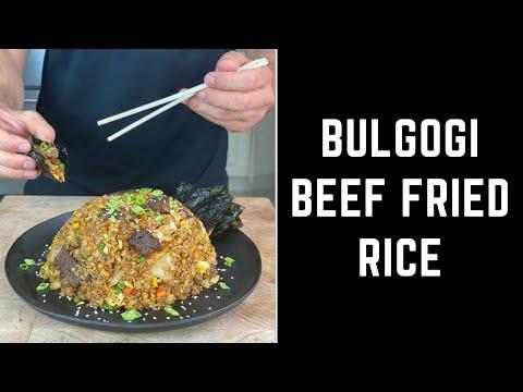 Bulgogi Beef Fried Rice #shorts
