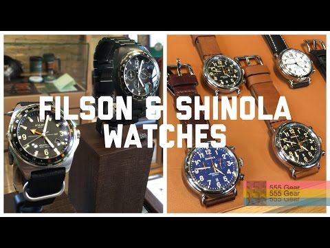 """Shinola and Filson Watches First Impressions: """"Real Watches or Hype?"""""""