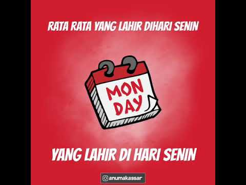 Kata Kata Untuk Hari Senin Youtube
