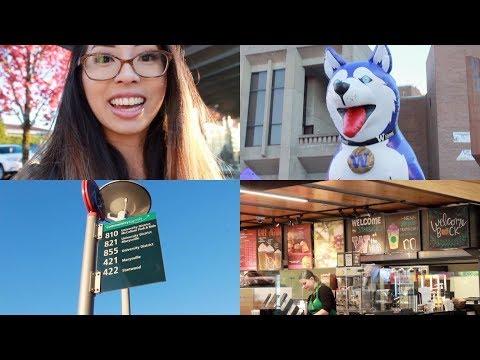 A Day at UDub ep. 1 | University of Washington Vlog