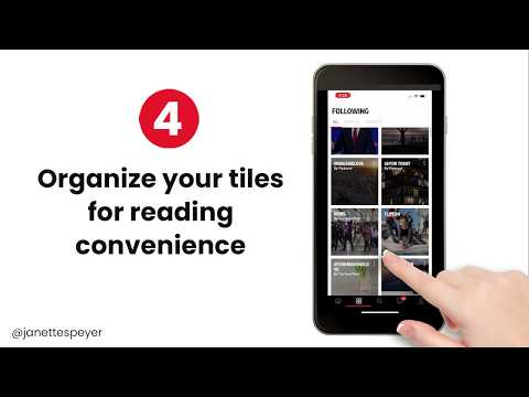 Lesson 4: How to organize your Flipboard Magazine Topics for easy reading