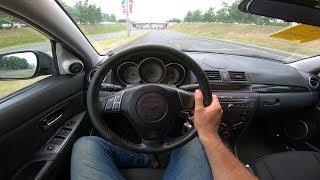 2007 Mazda 3 1.6L POV Test Drive