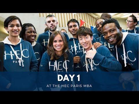 Day 1 at the HEC Paris MBA