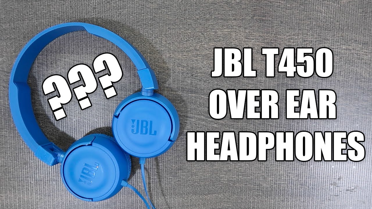 075a89a35af JBL T450 Unboxing & Review | Best Budget Over Ear Headphones - YouTube