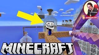 Troll Baskını   Minecraft Türkçe Şişelerden Kaçış   Bölüm 3