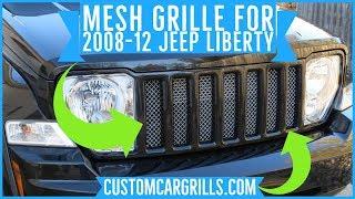 Customcargrills.com tarafından Jeep Liberty 2008 KK Kafes Izgara Kurulumu Nasıl-