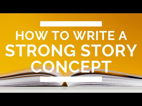 How to Write a Strong Story Concept (Reverse Book Blurb Exercise)