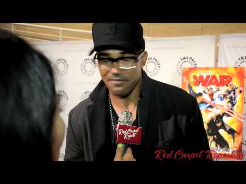 """Shemar Moore """"Cyborg"""" at the #PaleyCenter Premiere of Justice League: War #JLWar  @shemarmoore"""