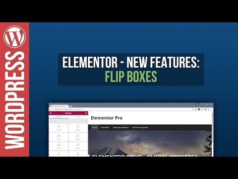 Elementor for WordPress: Flipbox Tutorial - 동영상
