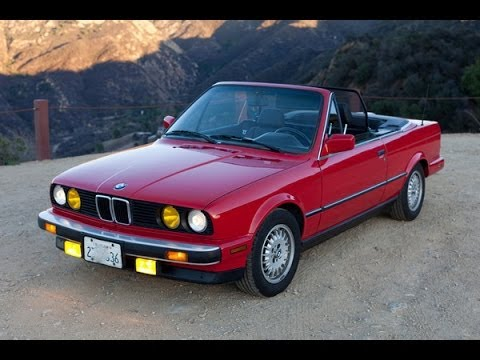 1989 Bmw 325i Convertible In Zinnberrot Lowered And Tuned For Daily Driving