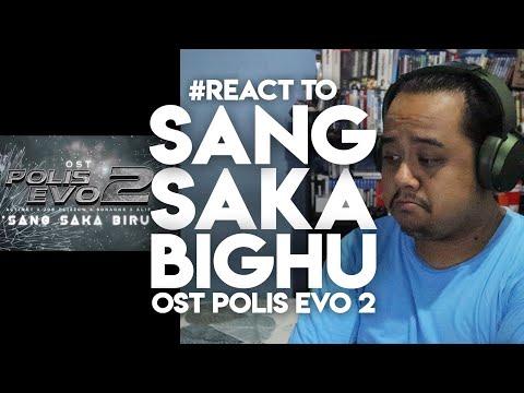 #ZHAFVLOG - DAY 293/365 - #React to SANG SAKA BIRU | OST POLIS EVO 2 | Joe Flizzow Altimet SonaOne