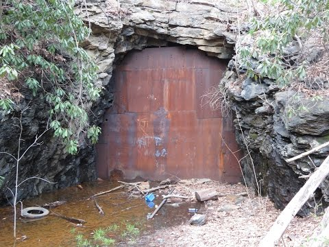 The Abandoned Lansford - Hauto Railroad Tunnel, Lansford PA