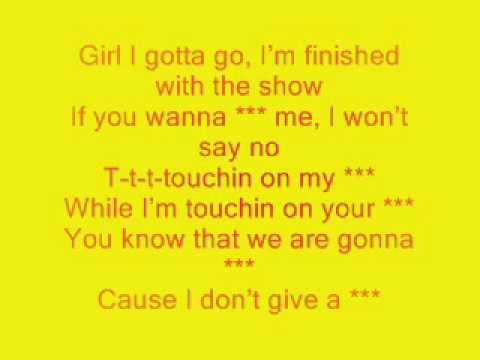 3OH!3 Touchin On My - Karaoke With Lyrics
