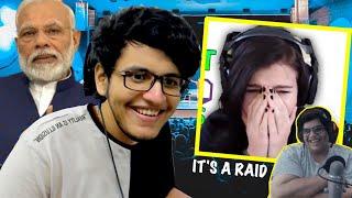 Modiji Raiding Streamers (ft. Tanmay Bhat) *Epic Reactions😂*