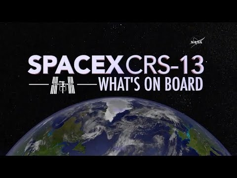 What's on Board the Next SpaceX Cargo Mission to the Space Station?