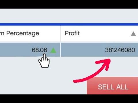 GTA 5 Stock Market Cheat - OVER $300,000,000 IN MINUTES!! Single Player Money Cheat [Original]