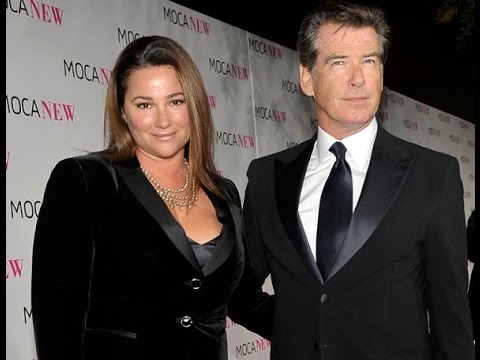 Pierce Brosnan Looks Smitten Arm In Arm With Wife For ...