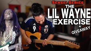 The Lil Wayne Guitar Exercise (and giveaway)