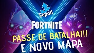 Fortnite Season X Battle Pass and new map #PassedeBatalha #NovoMapa #Rumo600Subs #1sub = 1vbuck