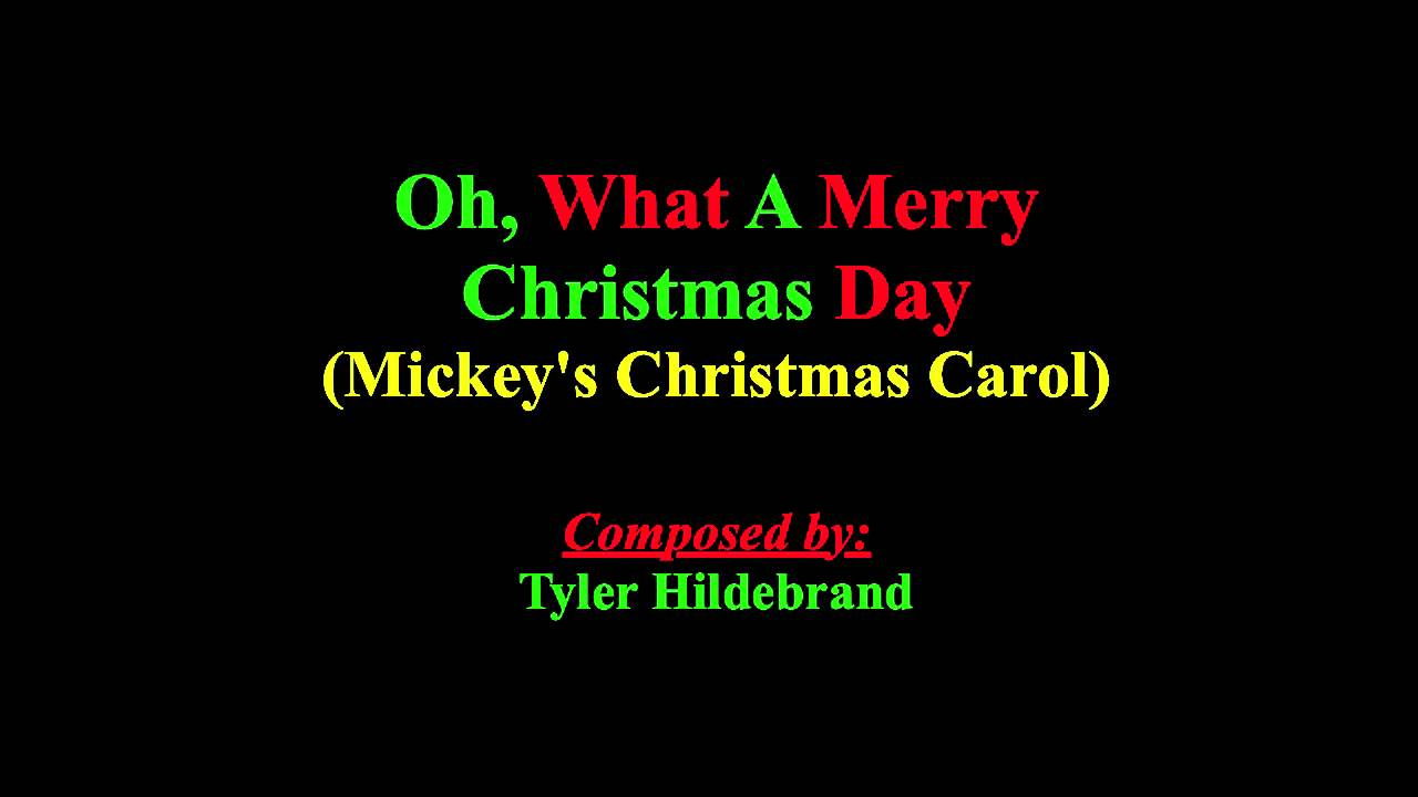 Oh, What A Merry Christmas Day (Instrumental) - YouTube
