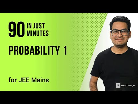 Probability Part-1 JEE Main Maths   Tips to Solve IIT JEE 2020 Questions   Venn Diagram JEE Mains thumbnail