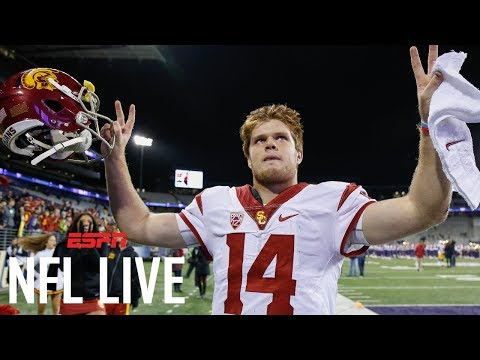 USC Quarterback Headlines 2018 QB Draft Class   NFL Live   ESPN