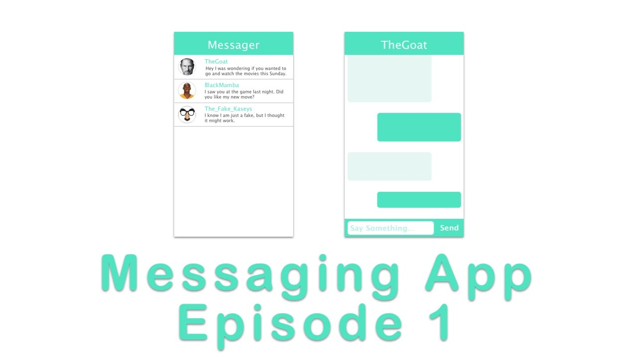 Making a Messaging App: Episode 1 (Swift 3 in Xcode)