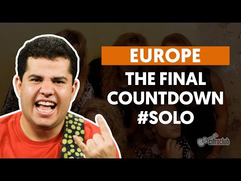 The Final Countdown - Europe (How to Play - Guitar Solo Lesson)
