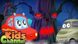 Story of the Halloween Tree | Little Red Car Songs And Nursery Rhymes | Halloween Music for Kids