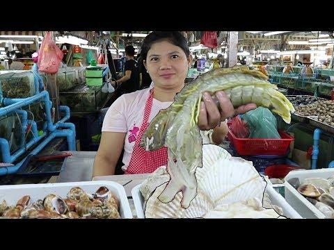 Phuket Seafood: The Freshest Seafood in Patong. Banzaan Food Market Phuket Thailand
