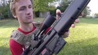 Tokyo Marui PSG1 Review (Insane Sniper Rifle)