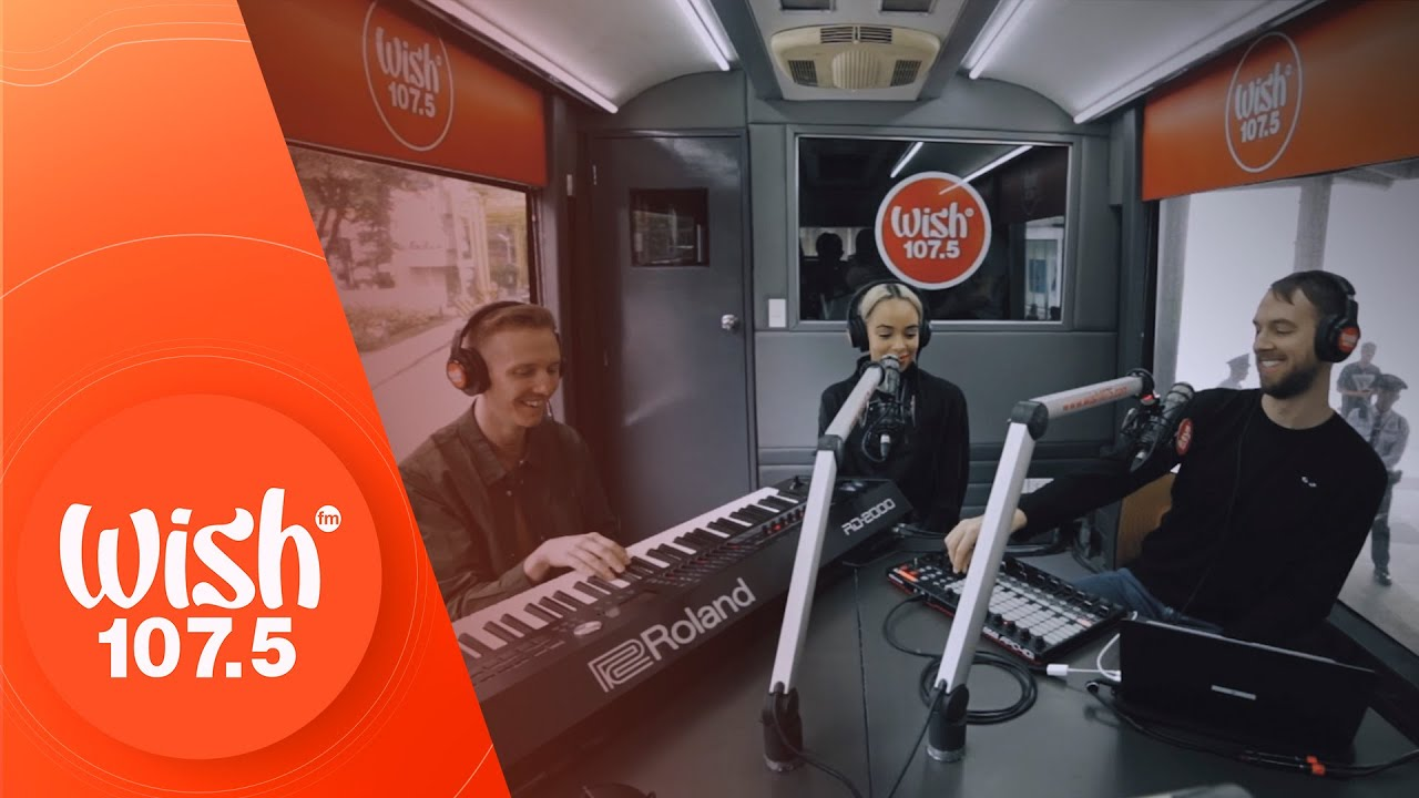 """HONNE (feat. Beka) performs """"Day 1"""" LIVE on Wish 107.5 Bus"""
