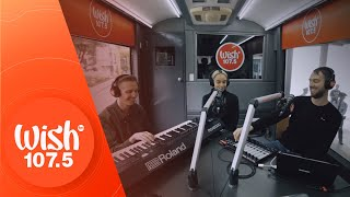 "HONNE (feat. Beka) performs ""Day 1"" LIVE on Wish 107.5 Bus"