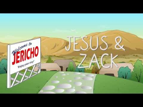 Jesus & Zack - The Story of Zacchaeus the Tax Collector - Animated Christian short film.