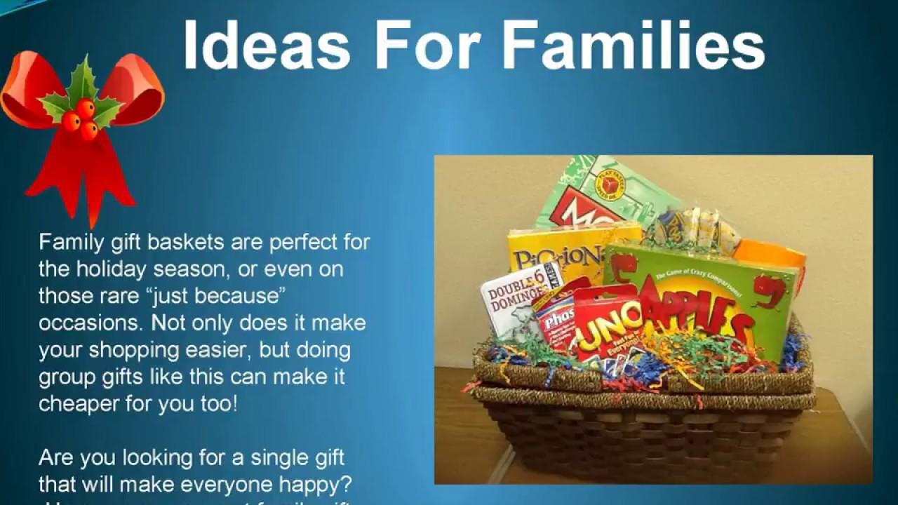 Family Christmas Gift Baskets.Christmas Gift Basket Ideas For Families